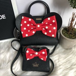NEW KATE SPADE ♠️ X MINNIE MOUSE